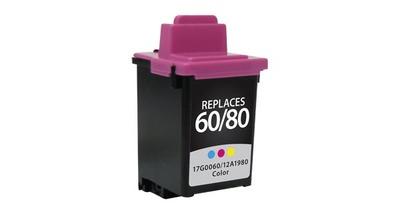 Lexmark 20/60/80 15M0120 ---COLOR (Item#650)... (INK REFILL)